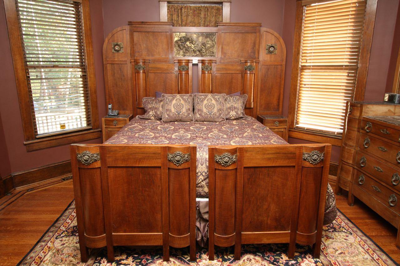 custom-built bed