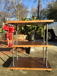Custom Bar Cart